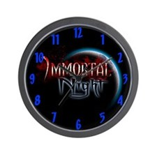 Immortal Night Wall Clock