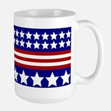 Stars and Stripes Large Mug