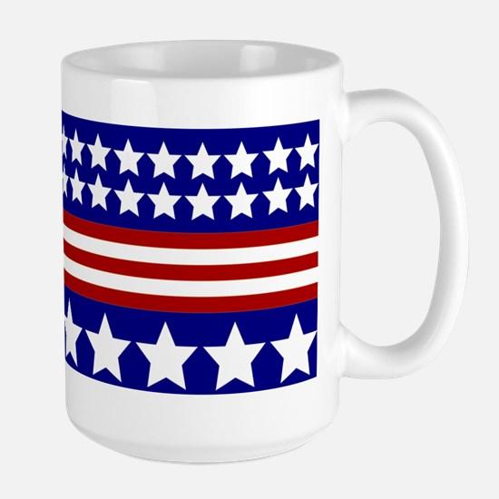 Stars and Stripes Large Mug