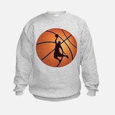 Basketball dunk Sweatshirt
