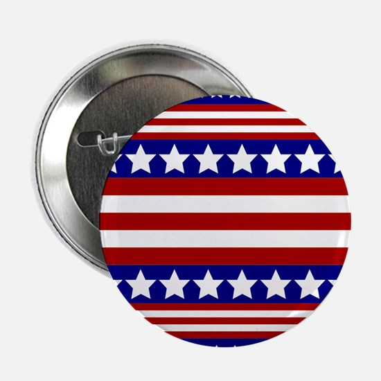 "Stars and Stripes 2.25"" Button (10 pack)"
