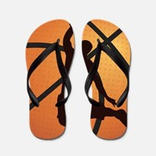 Basketball dunk Flip Flops