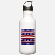 Stars and Stripes Water Bottle
