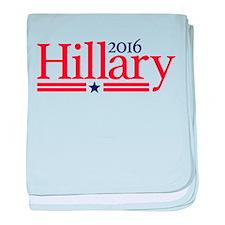 Hillary Clinton For President 2016 baby blanket