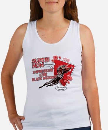 Black Widow Super Mom Women's Tank Top