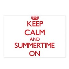 Keep Calm and Summertime Postcards (Package of 8)