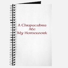Bad Chupacabra! Journal