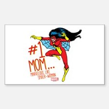 #1 Mom Like Spider-Woman Decal