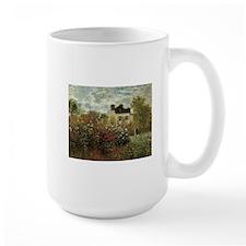 Claude Monet's Garden at Argenteuil Mugs