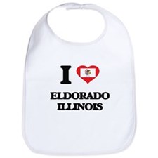 I love Eldorado Illinois Bib