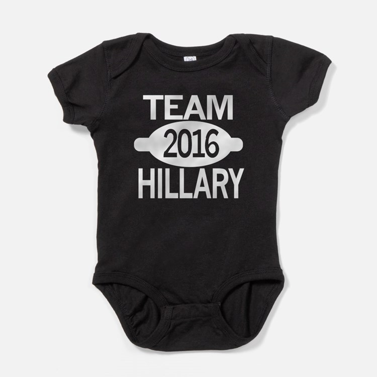 Team Hillary 2016 Baby Bodysuit