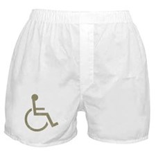 Vintage Wheel Chair Boxer Shorts