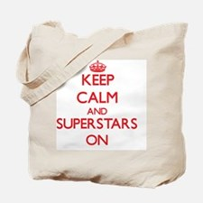 Keep Calm and Superstars ON Tote Bag