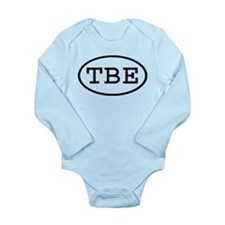 Funny Initials Long Sleeve Infant Bodysuit