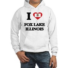 I love Fox Lake Illinois Hoodie