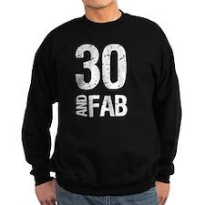Fabulous 30th Birthday Sweatshirt