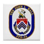 USS JOHN L. HALL Tile Coaster