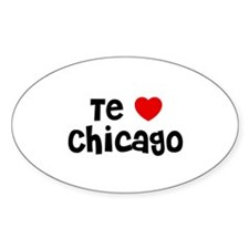Te * Chicago Oval Decal