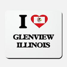 I love Glenview Illinois Mousepad