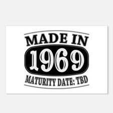 Made in 1969 - Maturity Date TDB Postcards (Packag