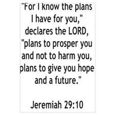 """""""For I know the plans I have for you"""""""