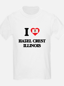 I love Hazel Crest Illinois T-Shirt