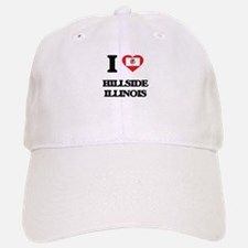 I love Hillside Illinois Baseball Baseball Cap