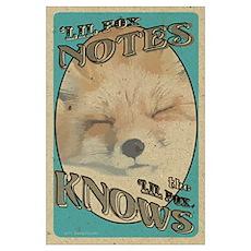 little fox Poster