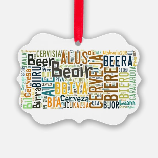 Cute Beer lover Ornament