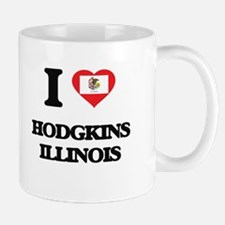 I love Hodgkins Illinois Mugs