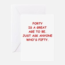 forty Greeting Cards
