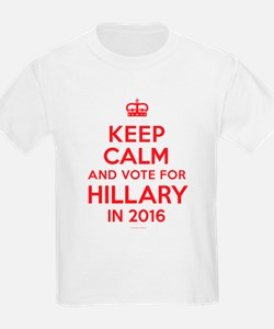 Keep Calm Vote for Hillary T-Shirt