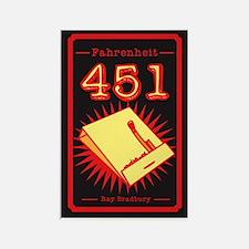Unique Fahrenheit 451 Rectangle Magnet