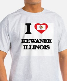 I love Kewanee Illinois T-Shirt
