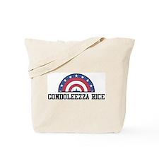 CONDOLEEZZA RICE - bunting Tote Bag