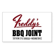 Freddy's BBQ Joint Washington DC Decal