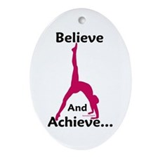 Gymnastics Ornament - Believe