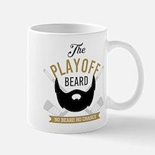 Gold Playoff Beard Mugs