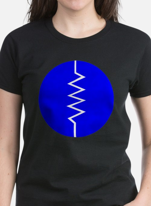 Circled Resistor Symbol T-Shirt