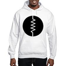 Circled Resistor Symbol Hoodie