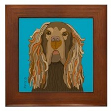 Sussex Spaniel Framed Tile