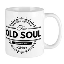 Birthday Born 1950 Limited Edition Old Mug