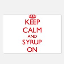 Keep Calm and Syrup ON Postcards (Package of 8)