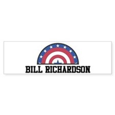 BILL RICHARDSON - bunting Bumper Bumper Sticker