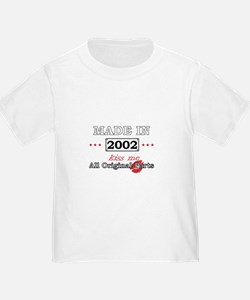 Made in 2002 -Kiss Me- All Original Parts T-Shirt