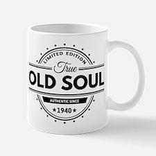 Birthday Born 1940 Limited Edition Old Mug