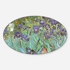 Van Gogh Irises, Vintage Post Impressionis Decal