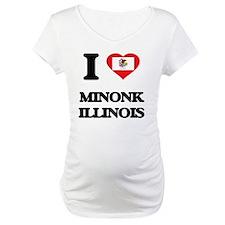 I love Minonk Illinois Shirt