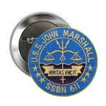 "USS JOHN MARSHALL 2.25"" Button"