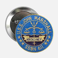 """USS JOHN MARSHALL 2.25"""" Button"""
